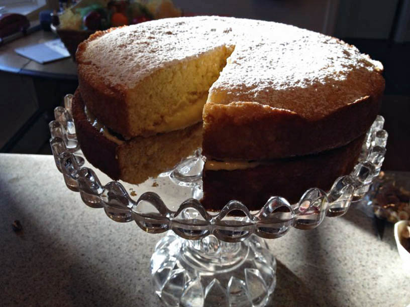 Betty Crocker Hot Milk Sponge Cake Recipe